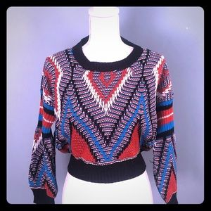 NWT ZAFUL crop top knitted sweater